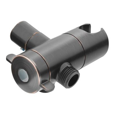 3-Way Diverter with Mount in Oil Rubbed Bronze