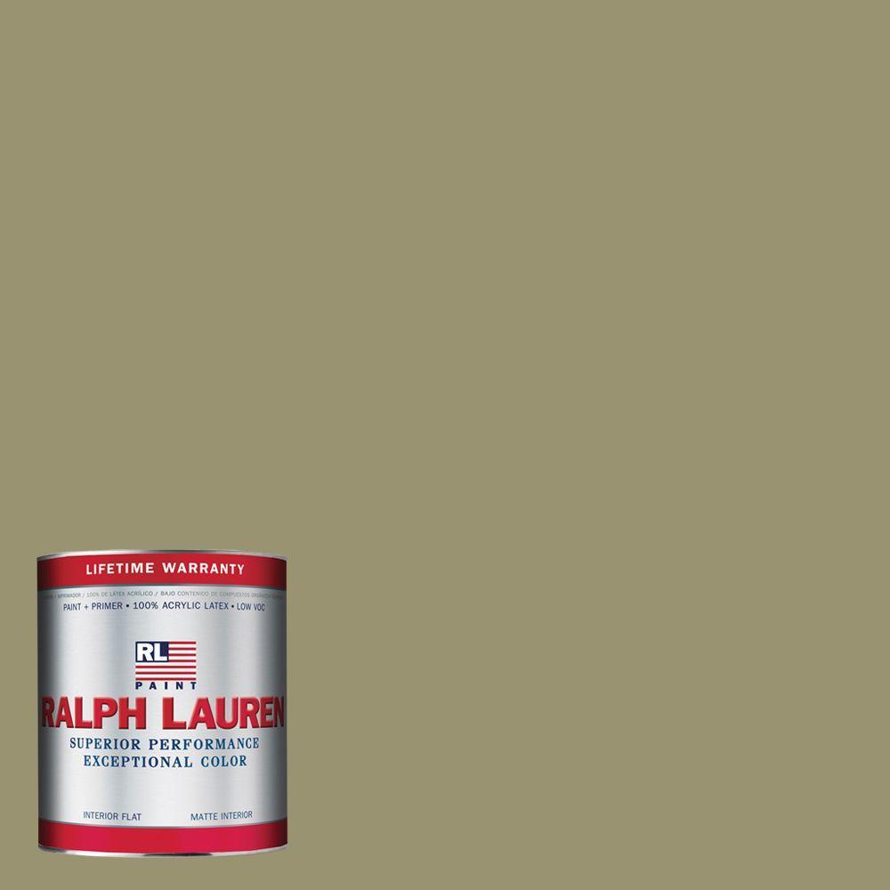 Ralph Lauren 1-qt. French Khaki Flat Interior Paint