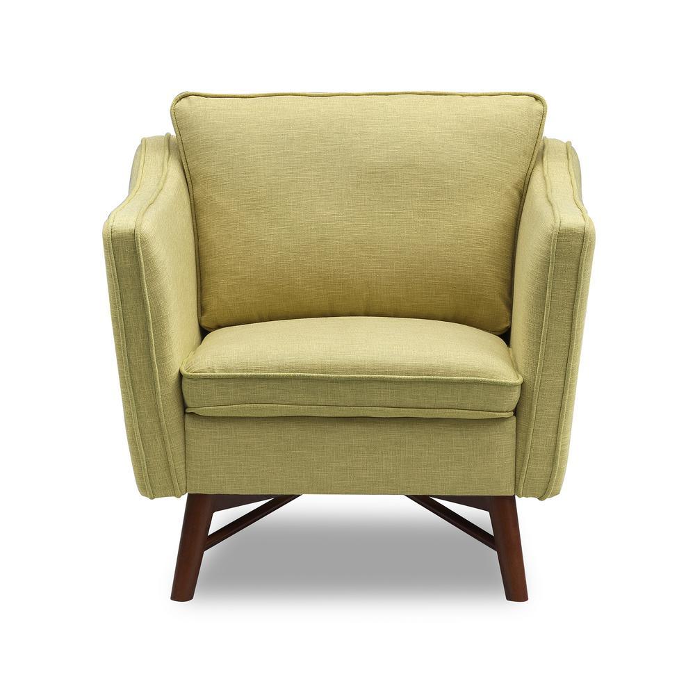 Astounding Todays Mentality Kennedy Light Green Fabric Sofa Chair Machost Co Dining Chair Design Ideas Machostcouk