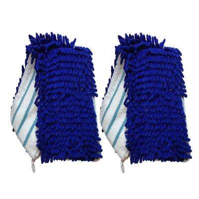 Microfiber Replacement for O-Cedar Dual Action Flip Mops, Washable and Reusable (2-Pack)