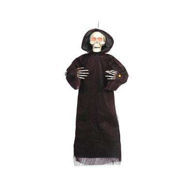 48 in. Animated Hanging Grim Reaper with Lights and Sound