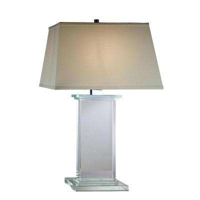Regina 28 in. Chrome Table Lamp