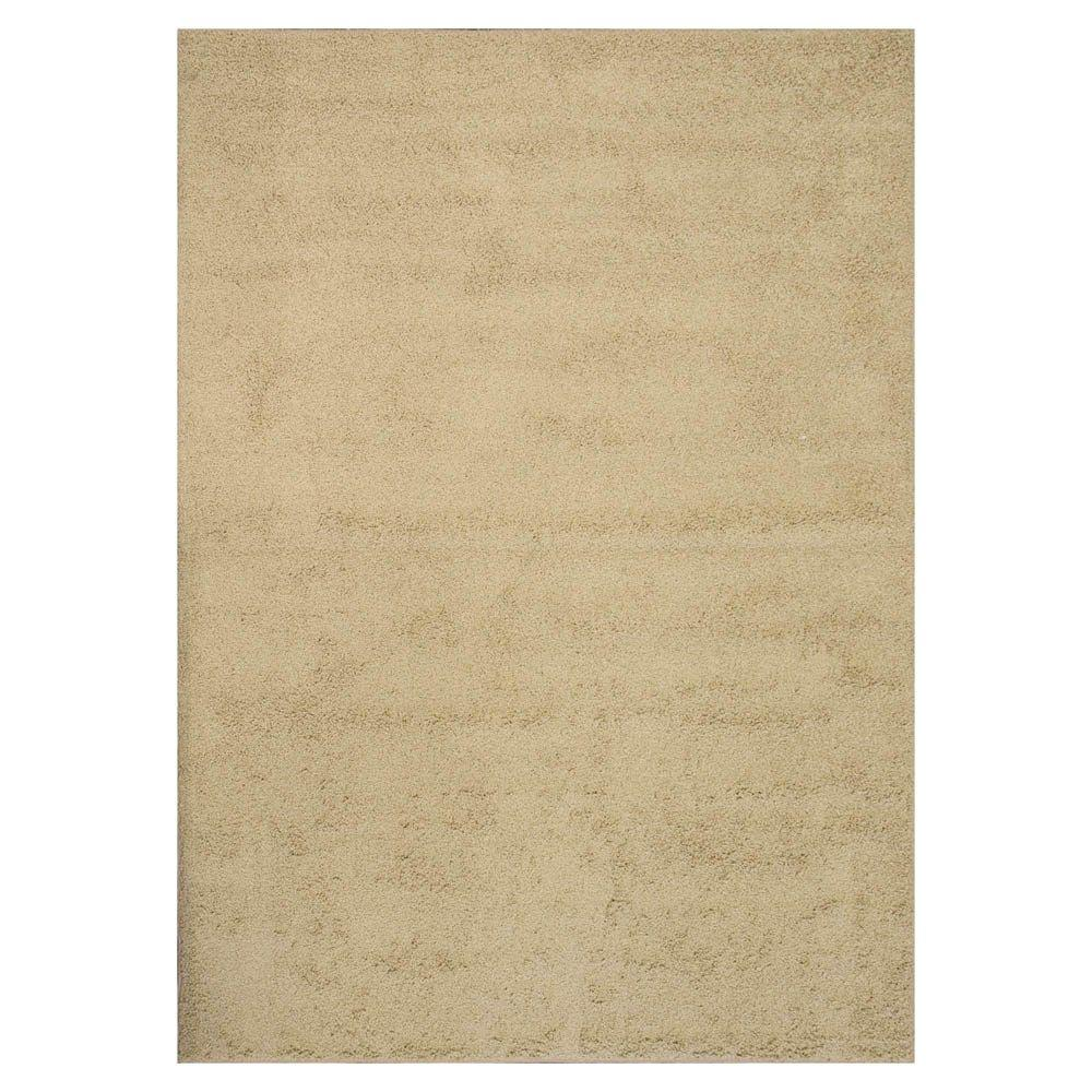 Natco Twist Natural 7 ft. 6 in. x 12 ft. Bound Carpet Remnant