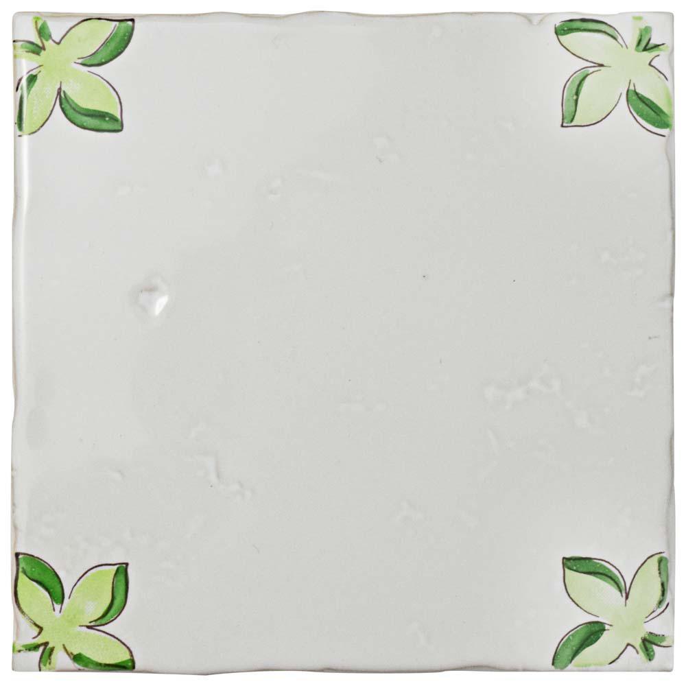 Novecento Taco Paterna 5-1/8 in. x 5-1/8 in. Ceramic Wall Tile