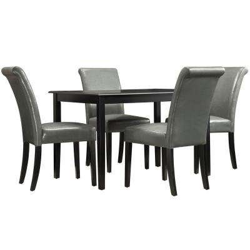 Lamartine 5-Piece Grey Dining Set