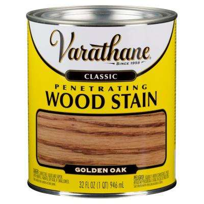 1 qt. Golden Oak Classic Wood Interior Stain (2-Pack)
