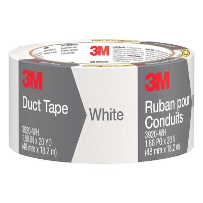 3M COMPANY 1020-WHT-A 1.88x20YD White Duct Tape