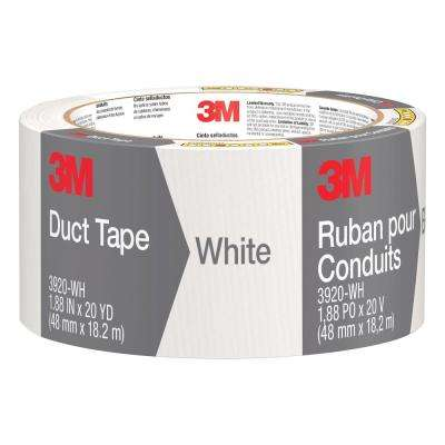 1.88 in. x 20 yds. White Duct Tape