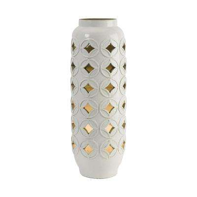 Calvinia 23.5 in. White Cutwork Lamp