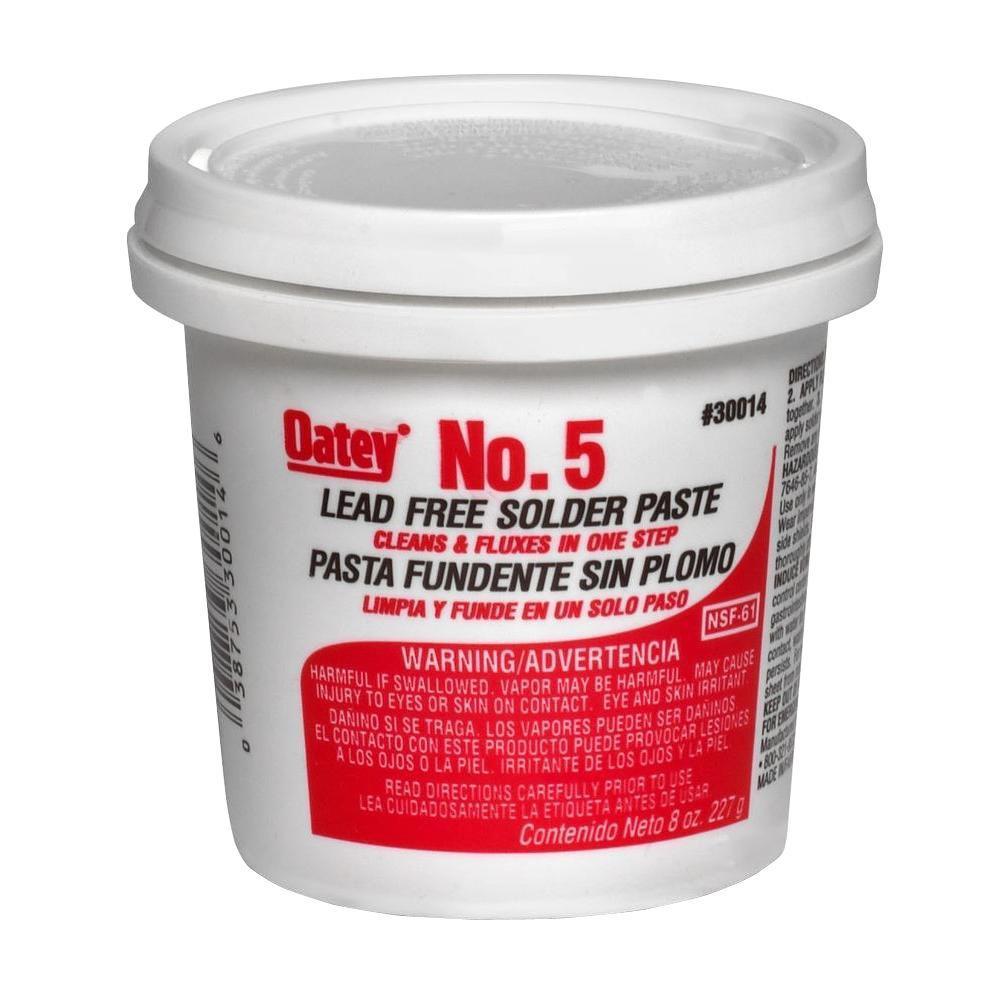 Oatey 8 oz. No. 5 Lead-Free Paste Flux