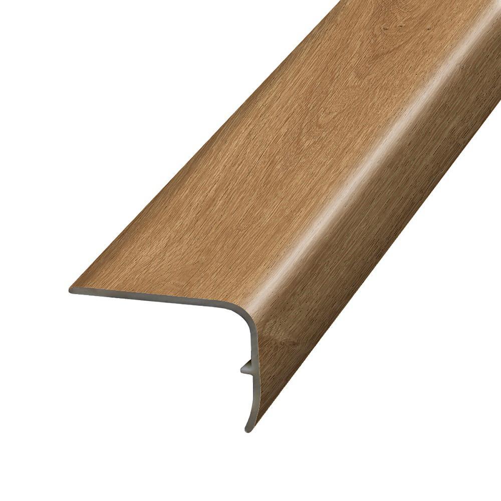 Cormorant Oak 1.32 in. T x 1.88 in. W x 78.7 in. L Vinyl Stair Nose Molding