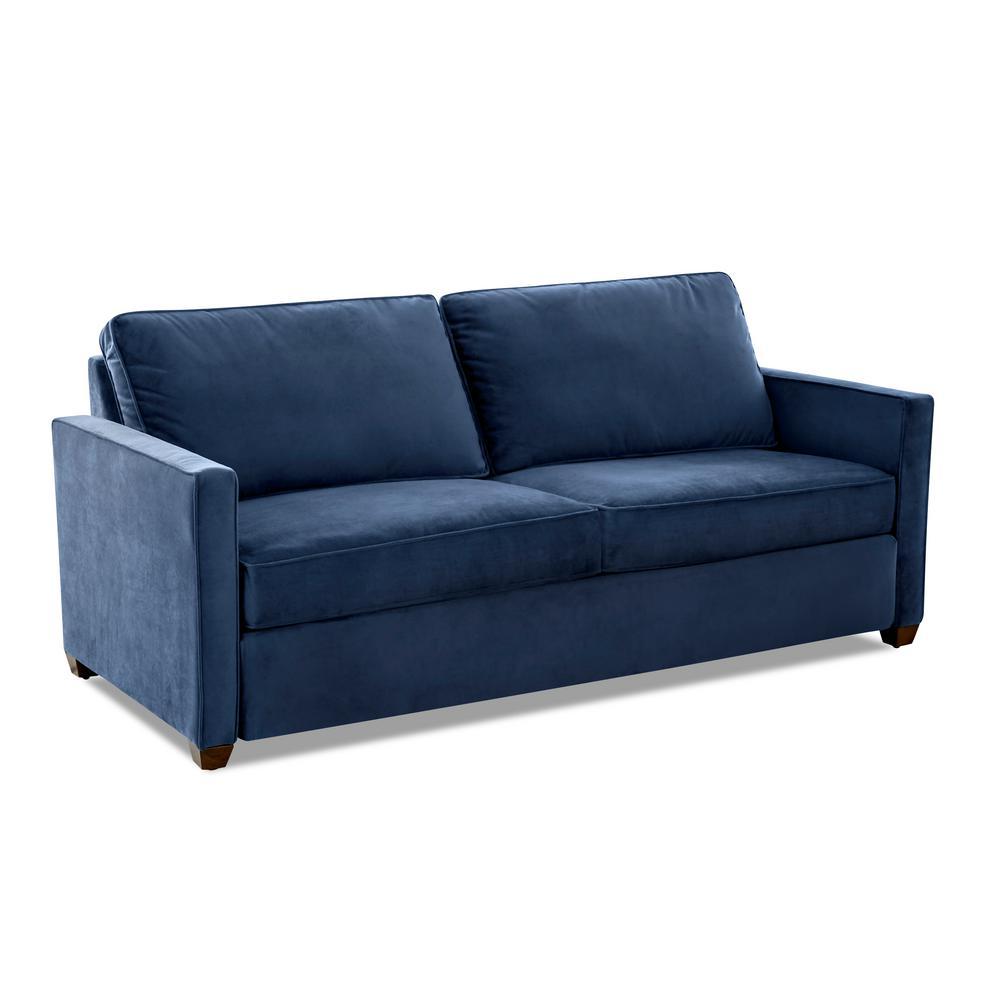 Miranda Queen Size Sleeper Sofa in Ink