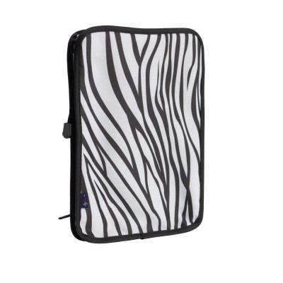 AgeWise Walker Rollator Personal Computer/Tablet Caddy in Zebra