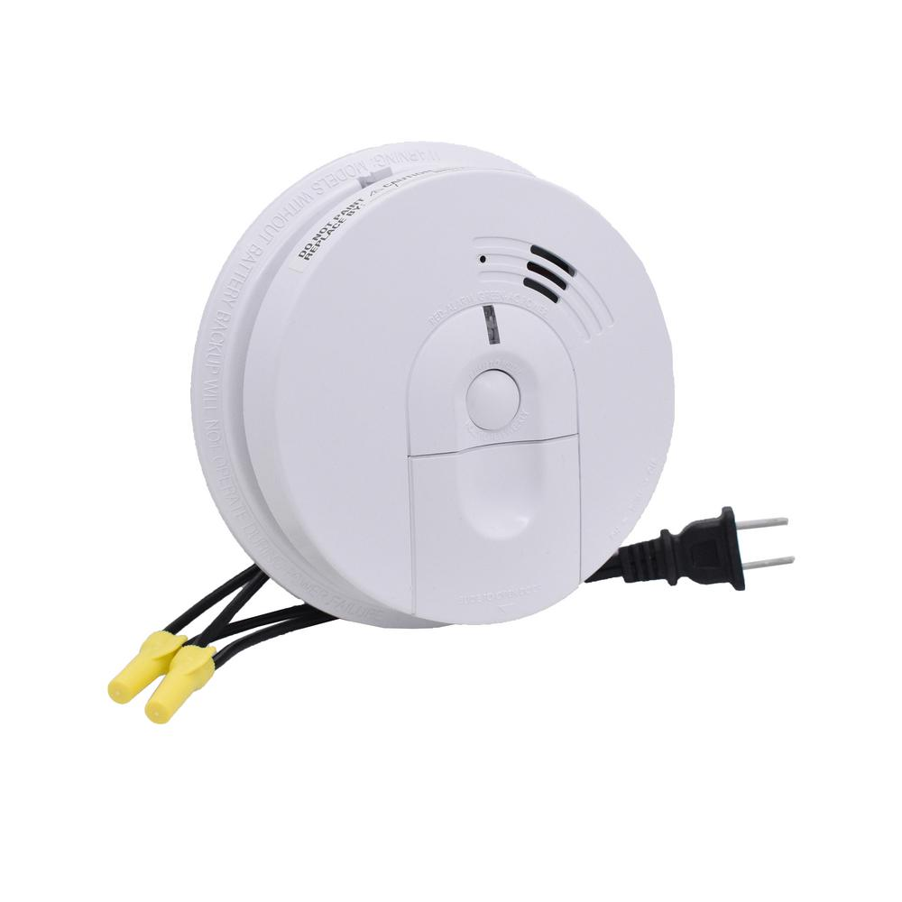 Bush Baby Faux Smoke Detector With Front And Side View Hidden