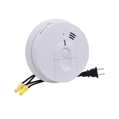 Faux Smoke Detector with Front And Side View Hidden Cameras