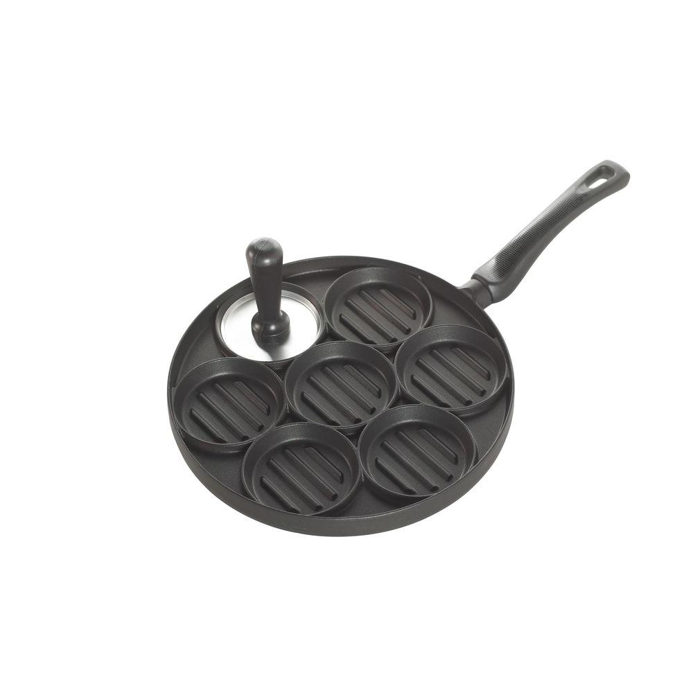 Nordic Ware All American Burger Bites Grill Pan and Press-DISCONTINUED