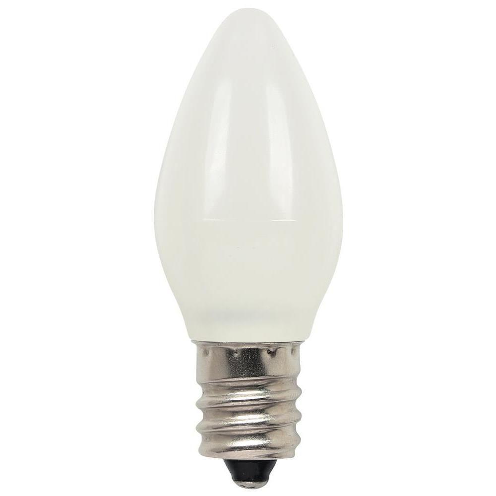Westinghouse 7w equivalent warm white c7 night light led light westinghouse 7w equivalent warm white c7 night light led light bulb 2 pack parisarafo Choice Image