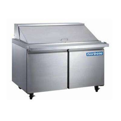 12 cu. ft. Mega Top Commercial Refrigerator in Stainless Steel