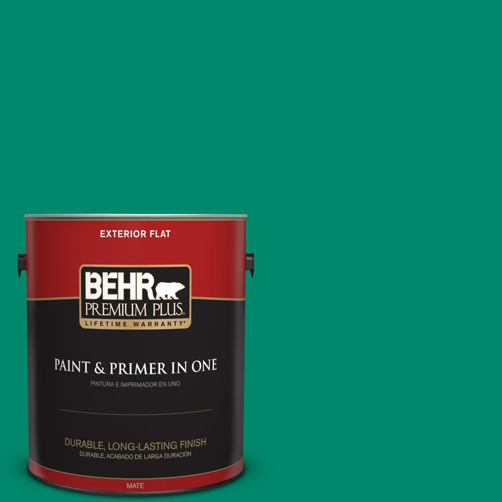 1-gal. #P430-6 Fairy Queen Flat Exterior Paint