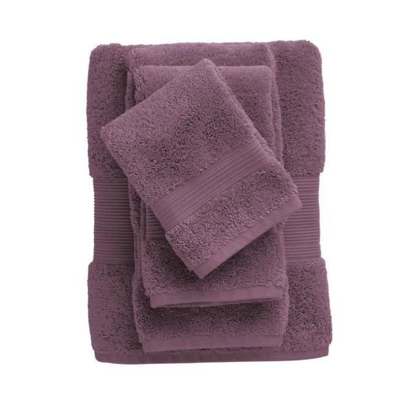 The Company Store Legends Regal Egyptian Cotton Fingertip Towel in Purple