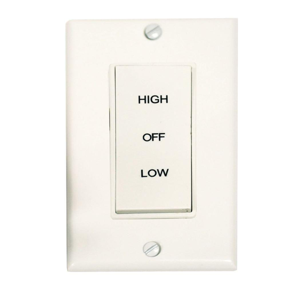 Master Flow 2 Speed Wholehouse Fan Control Switch