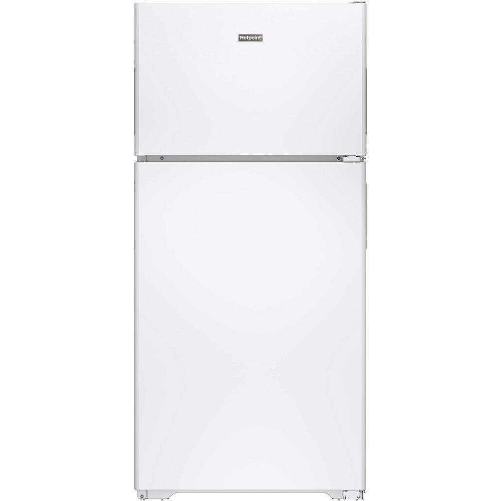 Hotpoint 14.6 cu. ft. Top Freezer Refrigerator in White