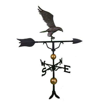 52 in. Deluxe Swedish Iron Full Bodied Eagle Weathervane