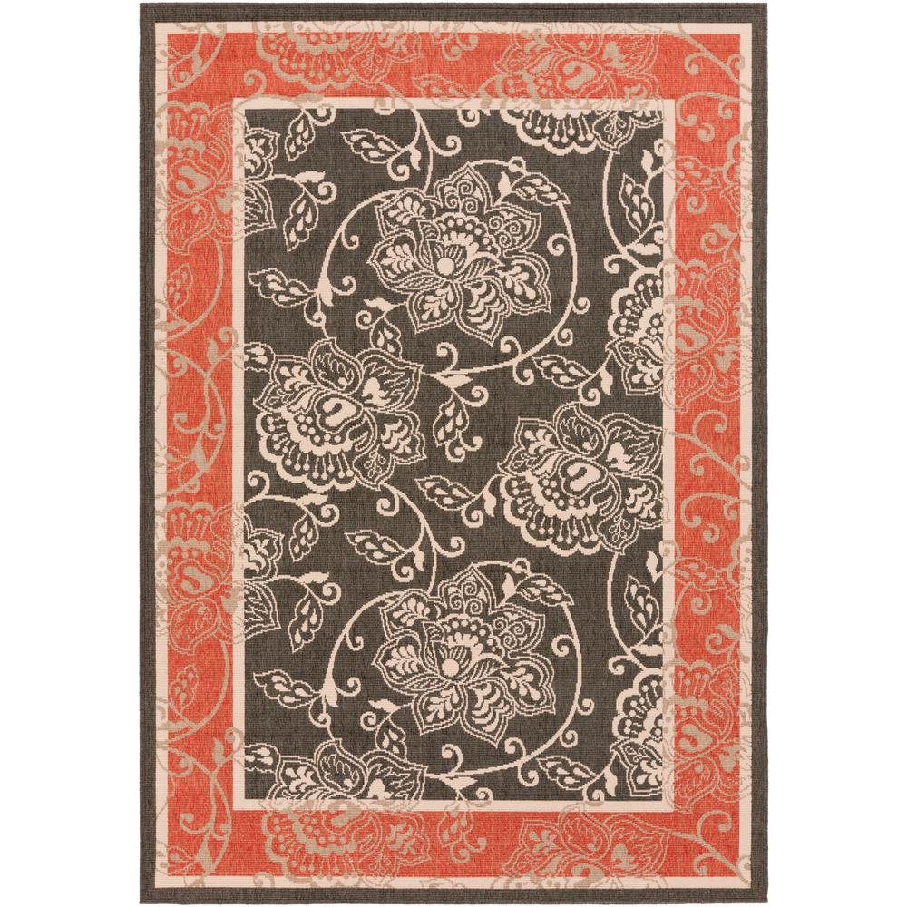Artistic Weavers Tereza Black 2 Ft X 5 Ft Indoor Outdoor Area Rug S00151001236 The Home Depot
