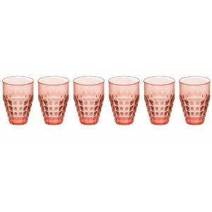 Guzzini Tiffany 17.2 oz. Tall Tumbler (Set of 6) by Guzzini