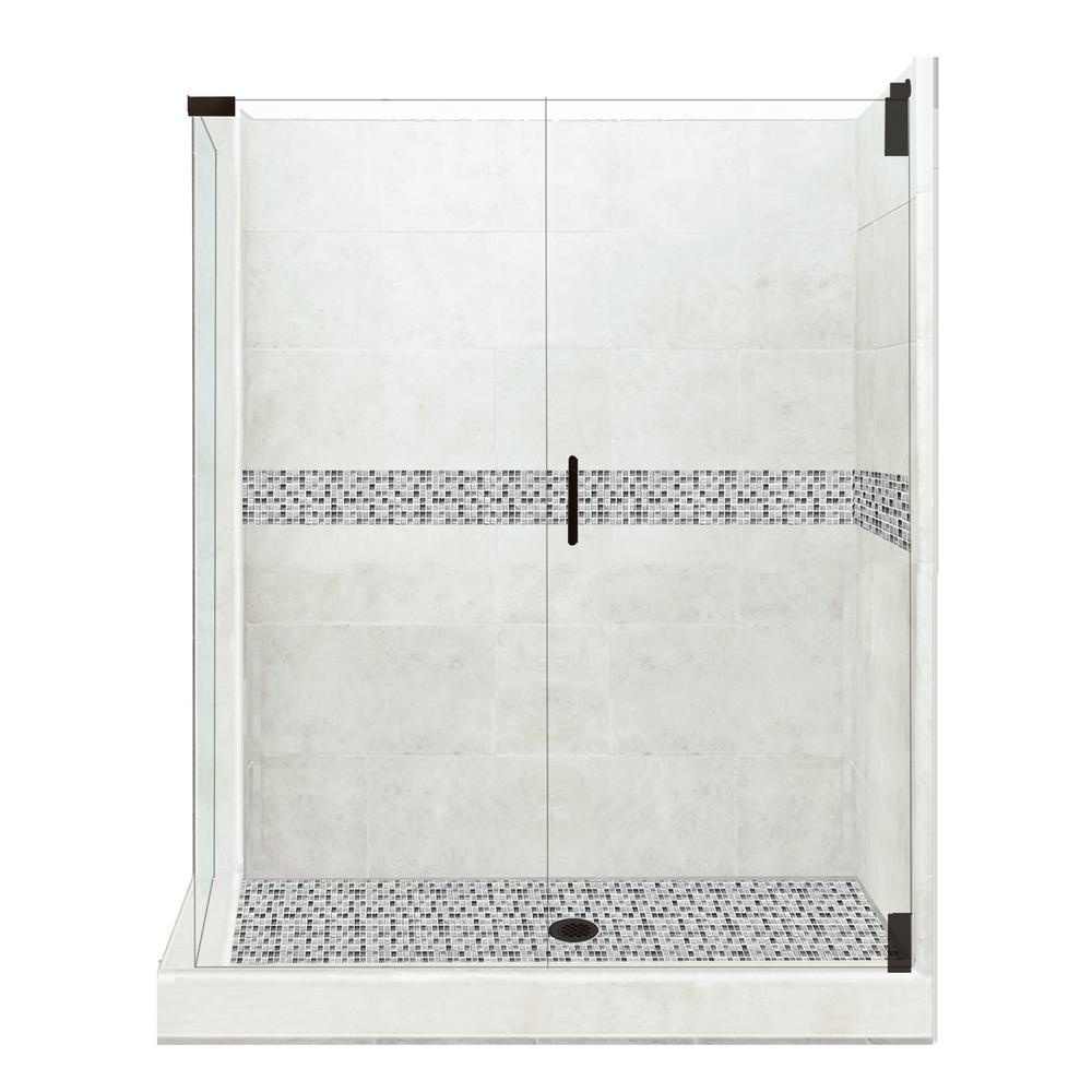 corner shower kits 36 x 36. American Bath Factory Del Mar Grand Hinged 32 in  x 36 80