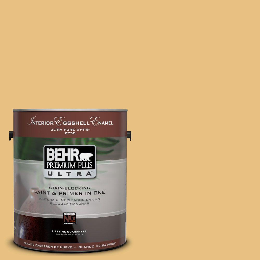 BEHR Premium Plus Ultra 1-Gal. #UL180-20 Charismatic Interior Eggshell Enamel Paint