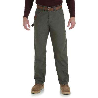 Men's Size 60 in. x 32 in. Loden Carpenter Pant