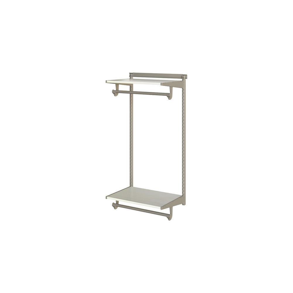 Closetmaid Shelftrack 80 In H X 48 In W X 16 In D White