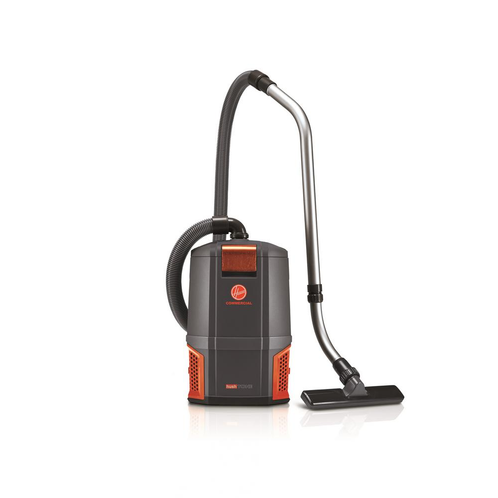 Hoover Commercial Hushtone 6 Qt Backpack Vacuum Cleaner