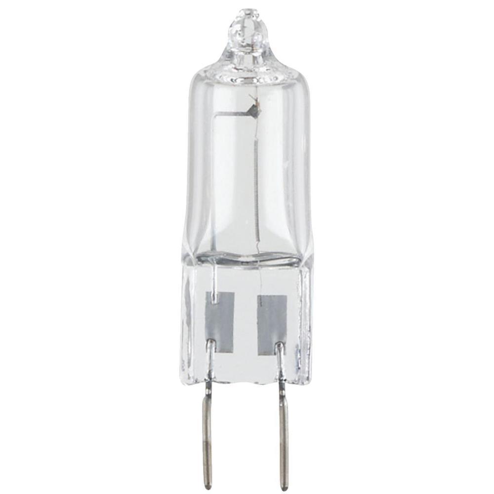 20-Watt Halogen T4 JCD Single-Ended Clear Xenon G8 Base Light Bulb (2-Pack)