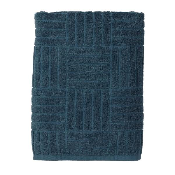 The Company Store Interlock Egyptian Cotton Wash Cloth in Storm (Set of 2)