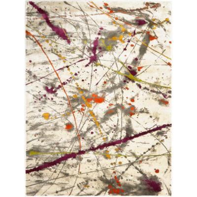 Tanja Amberly Multi 3 ft. 10 in. x 5 ft. 2 in. Indoor Area Rug