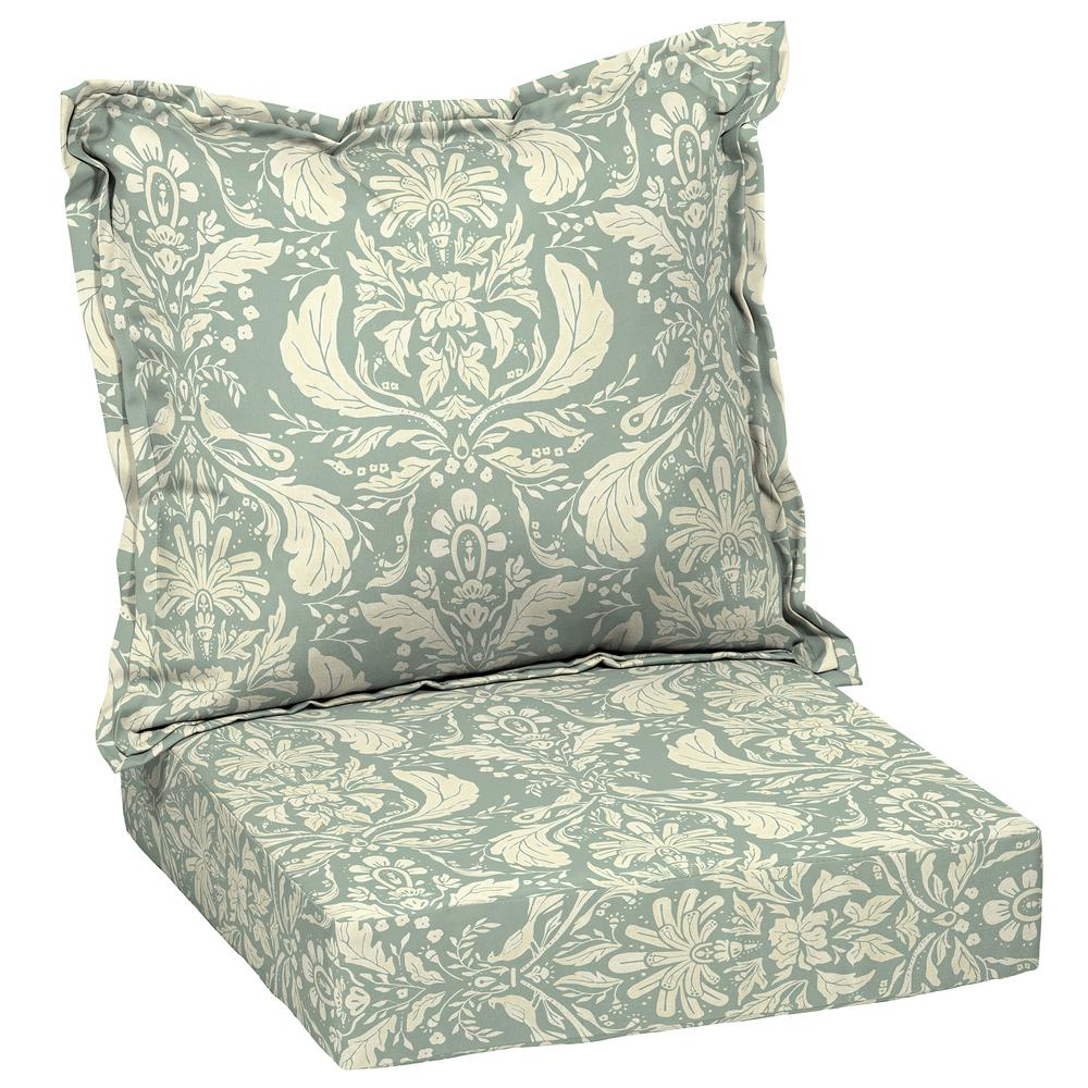 Arden Selections Artisans 45 In X 24 In Opus Floral Deep Seating