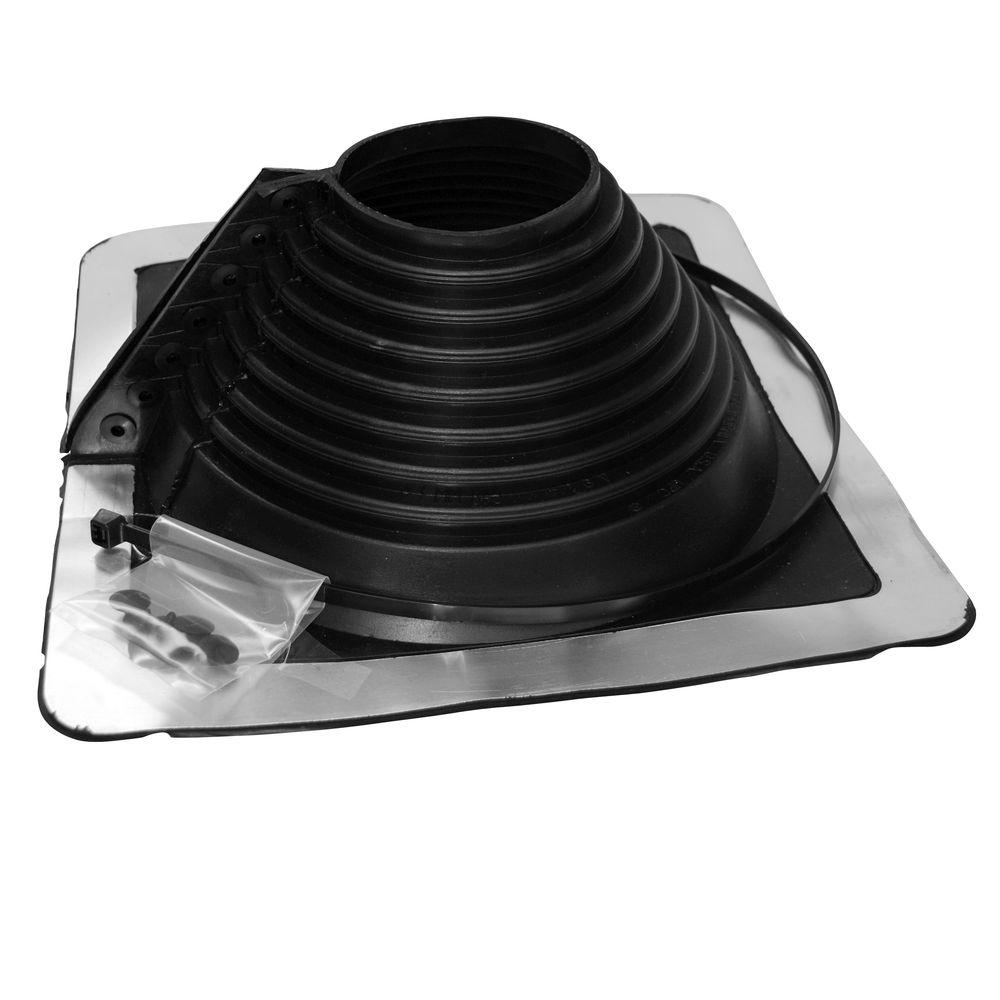 Retro Master Flash 4 in. - 9.25 in. Roof Flashing