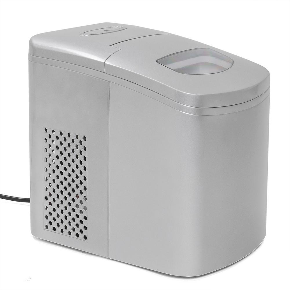 Newair 50 Lb Portable Ice Maker In Metallics Ai 215ss
