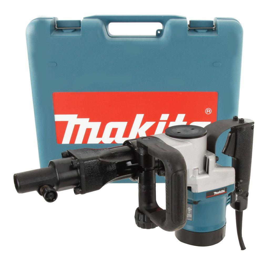 Makita 10 Amp 3/4 in. Hex Corded Demolition Hammer with AC/DC Switch and Hard Case