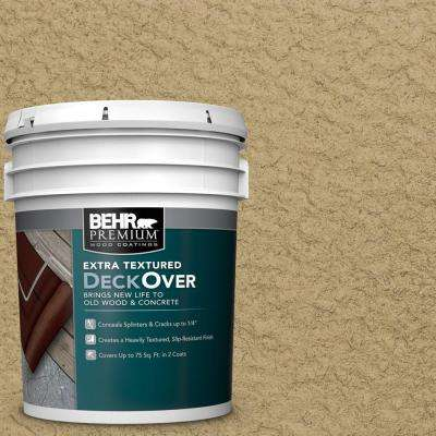 5 gal. #SC-145 Desert Sand Extra Textured Solid Color Exterior Wood and Concrete Coating