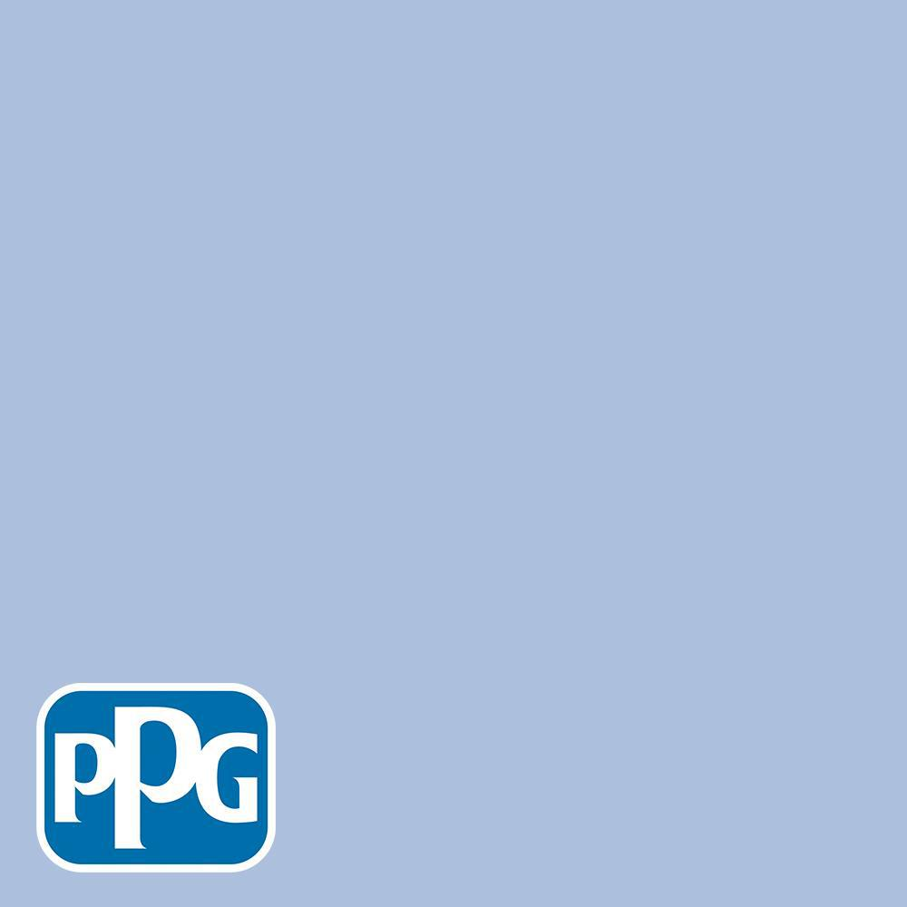 Hdgv28u Roslyn S Periwinkle Blue Eggshell Interior Paint With Primer