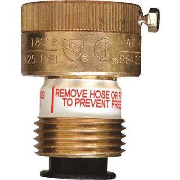 Cash Acme 3/4 in. Vacuum Breaker Self Draining with Locking Screw Lead Free
