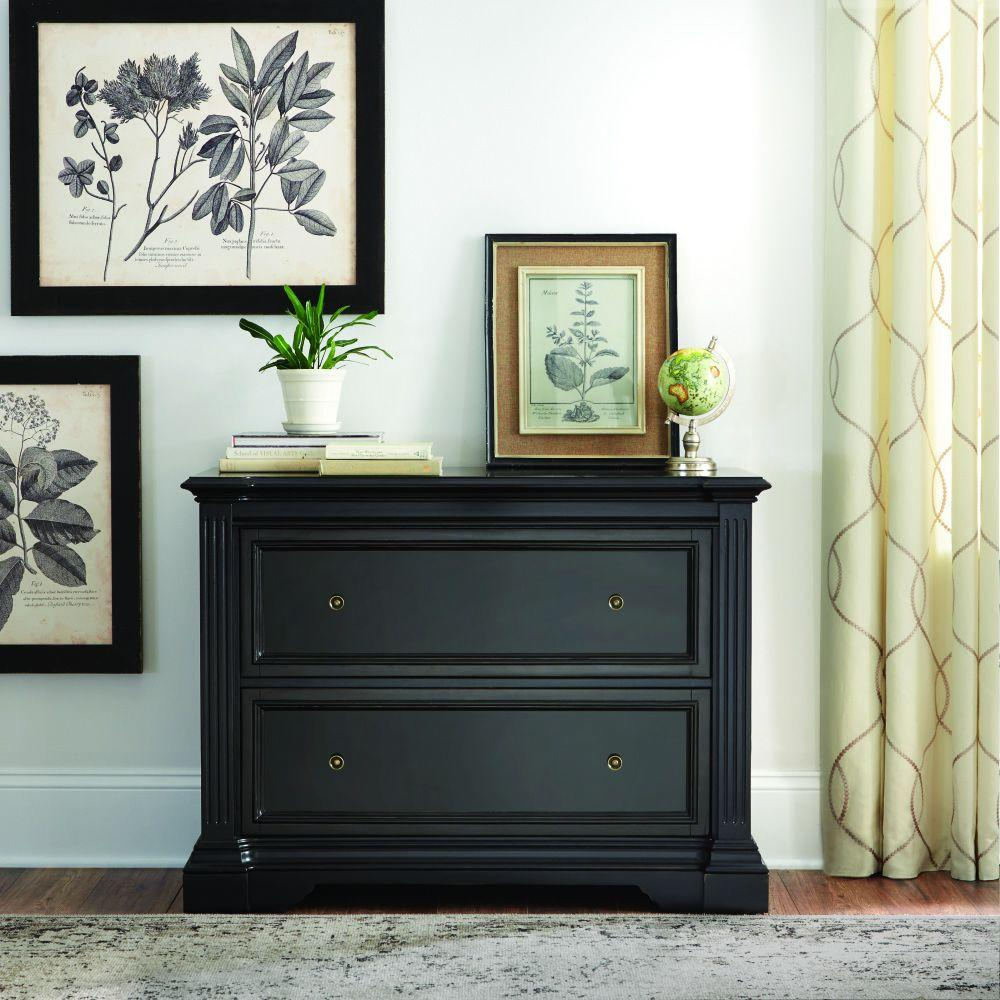 Home Decorators Collection Bufford Rubbed Black File