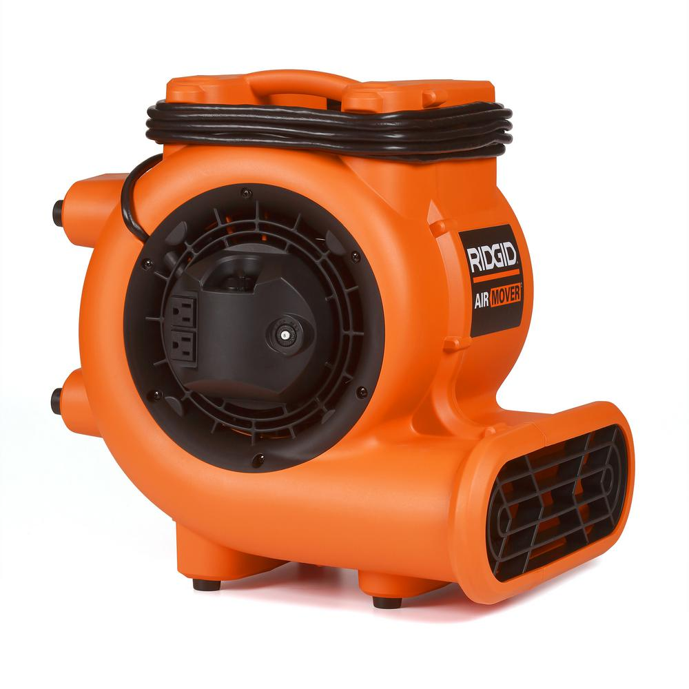 Air Moving Fans : Ridgid cfm blower fan air mover with daisy chain