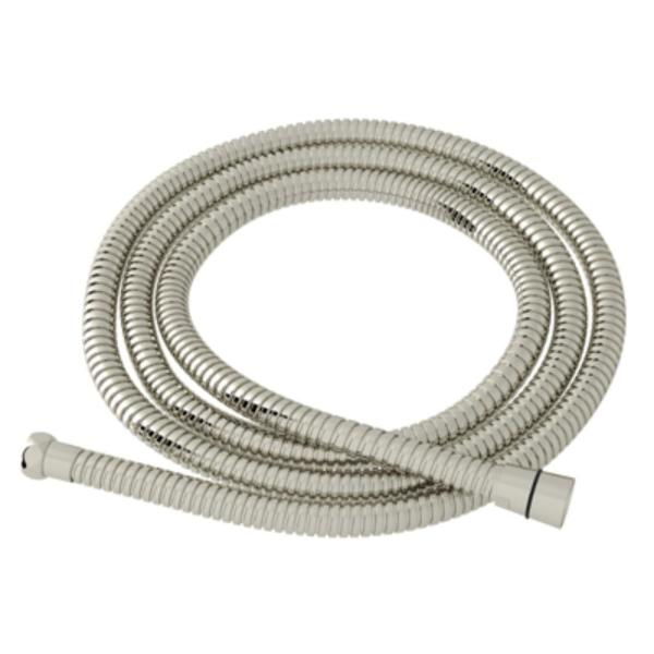 59 in. Metal Shower Hose in Polished Nickel
