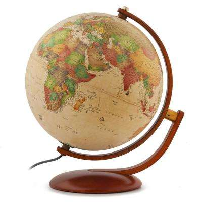 Andorra 12 in. Classic Antique Ocean Globe