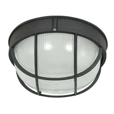 1-Light Black Bulk Head Light