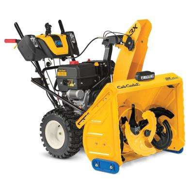 3X 30 in. MAX 420 cc Three-Stage Electric Start Gas Snow Blower with Steel Chute, Power Steering and Heated Grips
